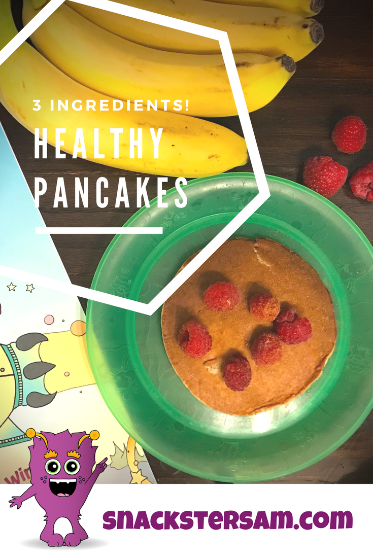 Healthy Pancakes with 3 Ingredients