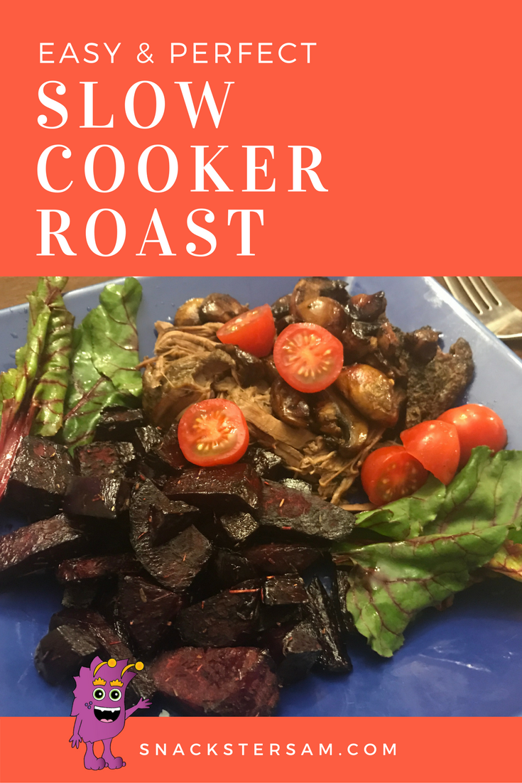 easy and perfect slow cooker roast