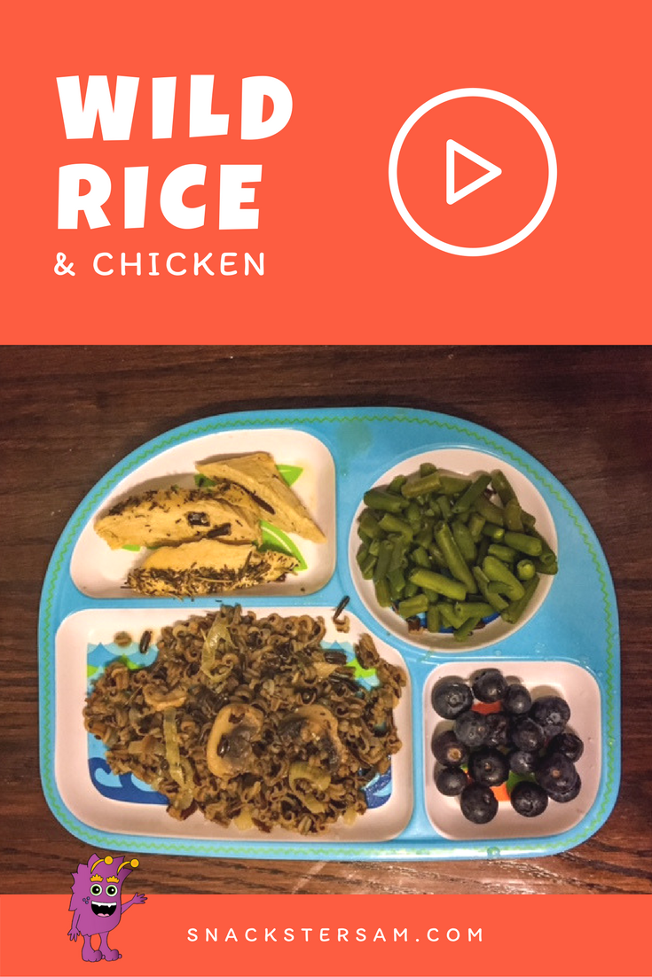 Wild Rice and Chicken Recipe with Video