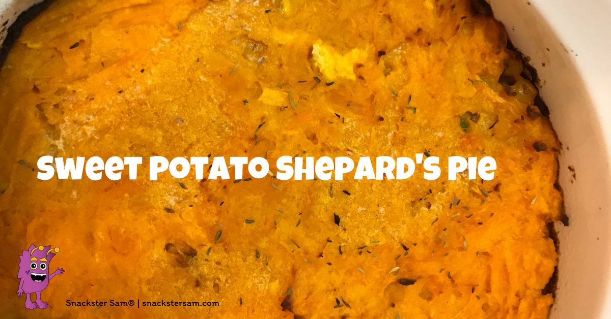 easy sweet potato shepards pie recipe