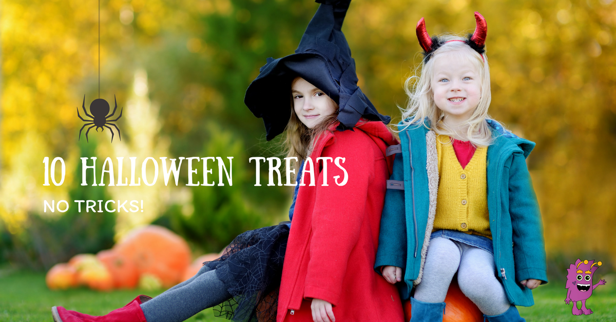10 halloween treats without tricks